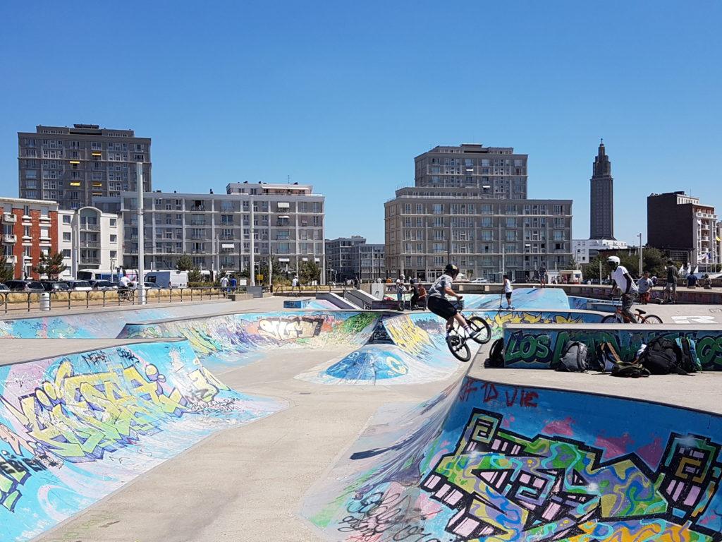 Le Havre - skateparc - © B. Collier